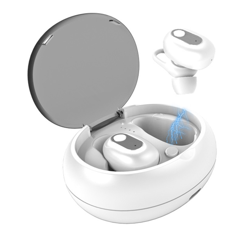 [bluetooth 5.0] Wireless Earphone Heavy Bass Stereo Touch Control Sport Handsfree With Charging Case