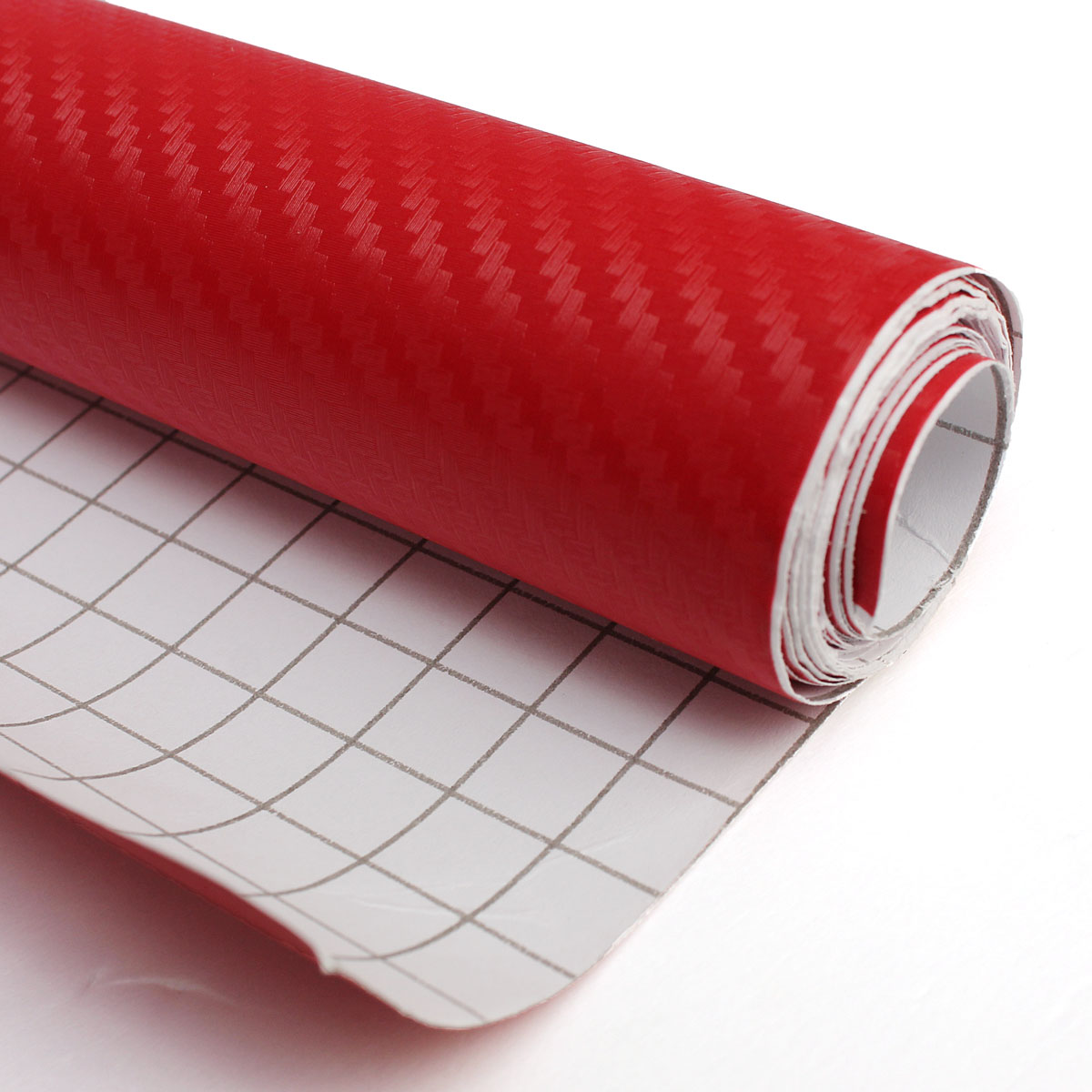 200x30cm DIY Carbon Fiber Vinyl Wrap Roll Film Sticker Car Decal Sheet