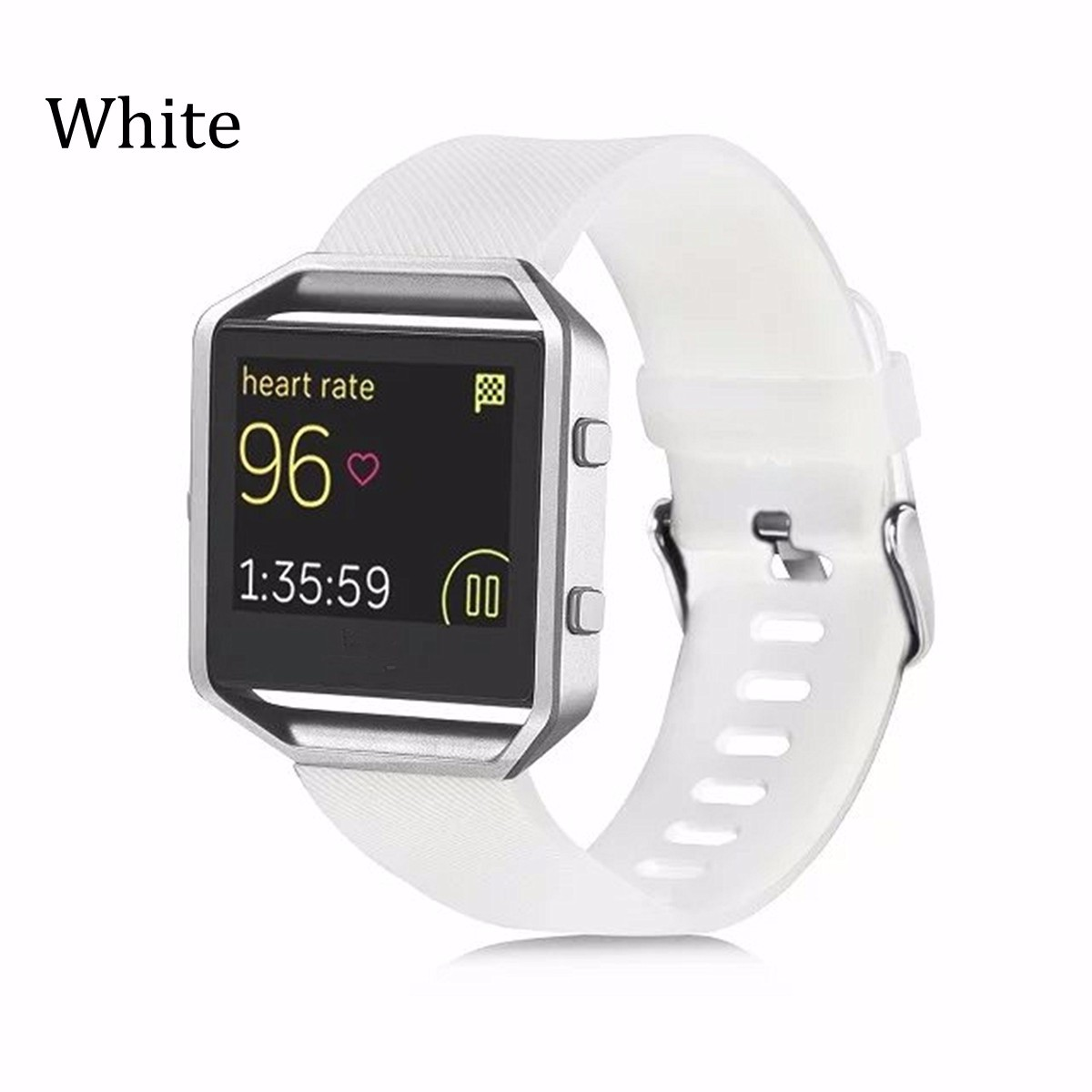 Colorful Silicone Replace Wristband Band Sport Strap For Fitbit Blaze Smart Watch