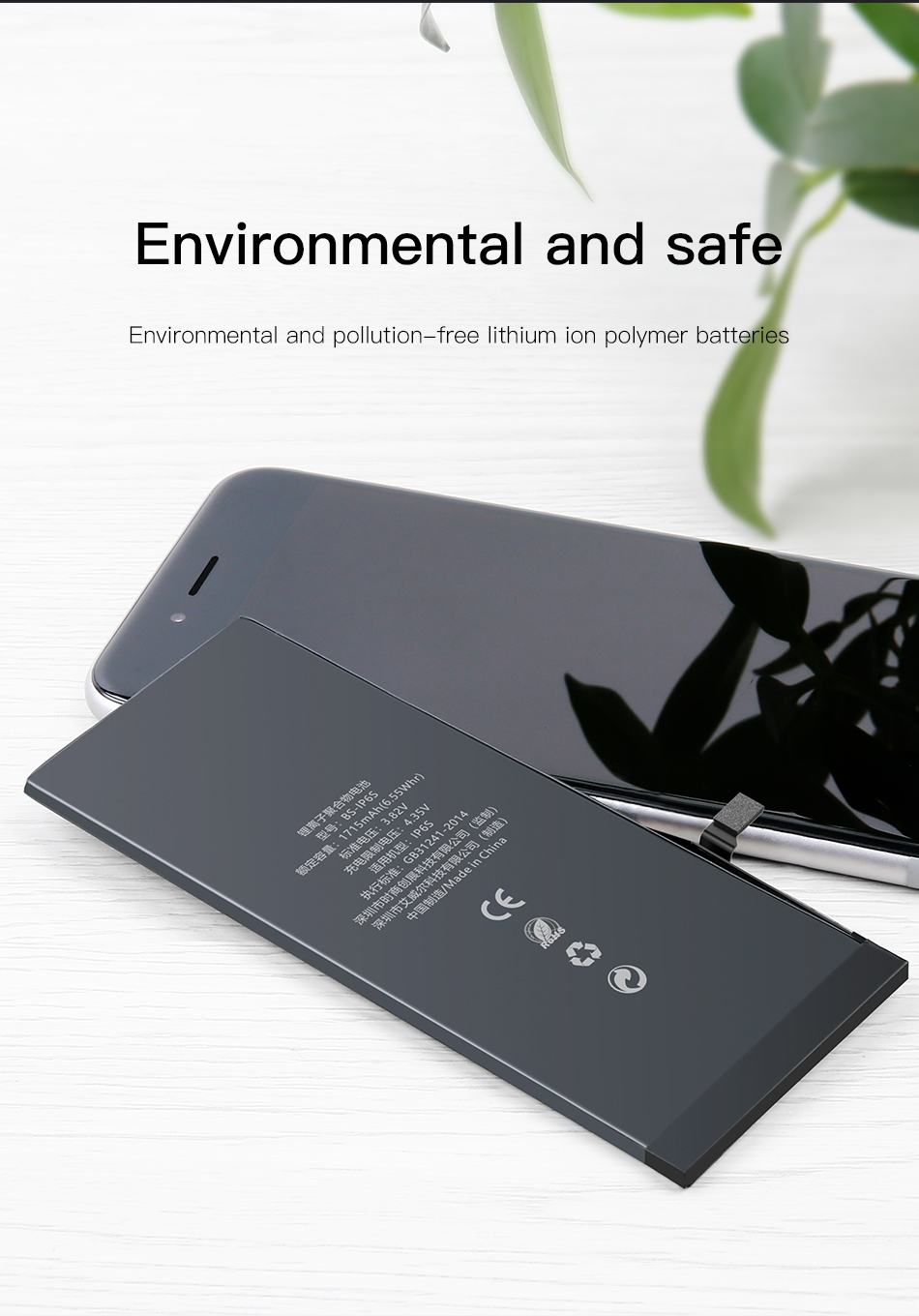 Bakeey 1810mAh Capacity Li-ion Battery Replacement for iPhone 6