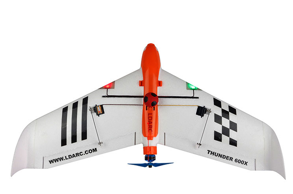 Kingkong/LDARC THUNDER 600X 656mm Wingspan EPO FPV RC Airplane Kit - Photo: 3