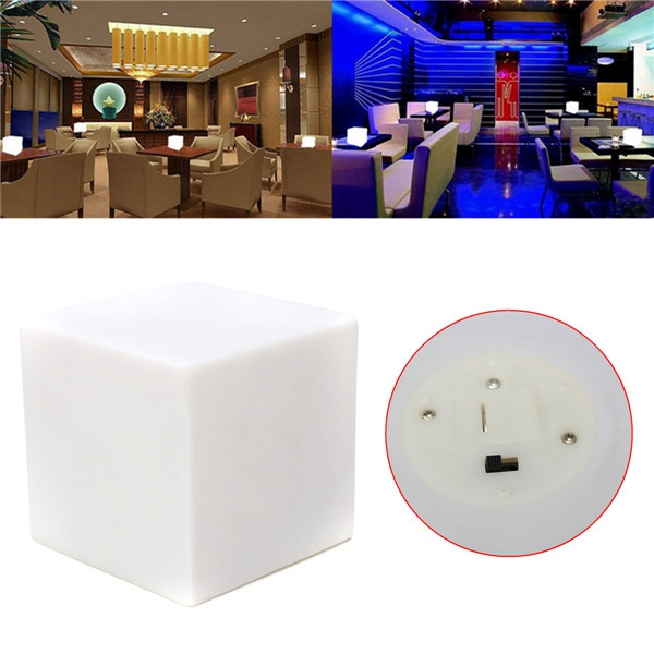 Romantic LED Colorful Mood Cube Glow Night Lamp Light for Home Party Decor