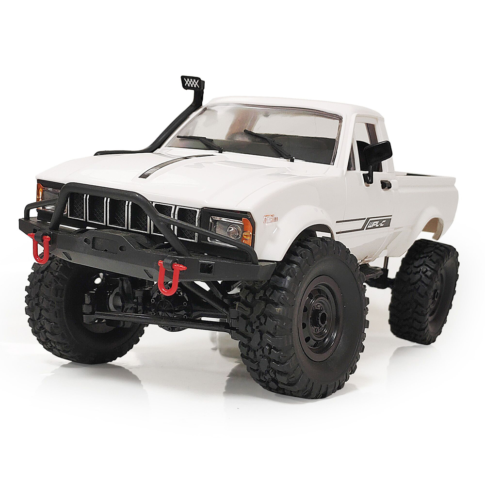 WPL C24 1 1/16 2.4G 4WD Crawler Truck RC Car Full Proportional Control RTR