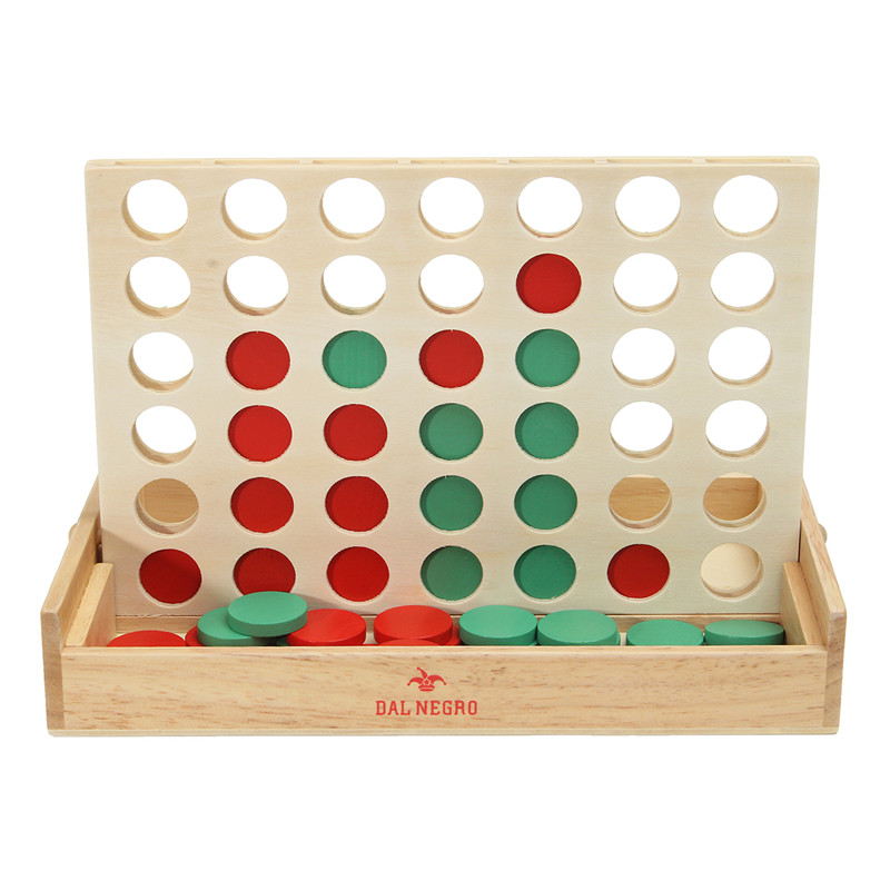 Vertical Connect 4 Board Checkers Family Party Toys Easy Carry Chess Game For Kids Educational Gift
