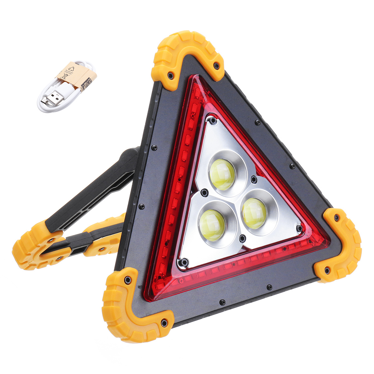 50W 36LED COB Work Light 4 Modes USB Rechargeable Outdoor Camping Lantern Tent Lamp