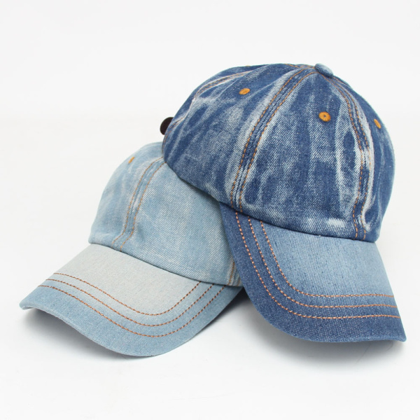 Mens Women Vintage Denim Baseball Cap Casual Outdoor Visor Snapback Caps