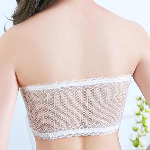Sexy Lace No Padded Strapless Anti Emptied Primer Underwear