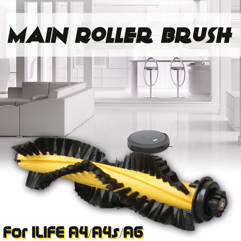 Main Roller Brush For ILIFE A4/A4s/A6 Robot Vacuum Cleaner Parts Vacuum Parts