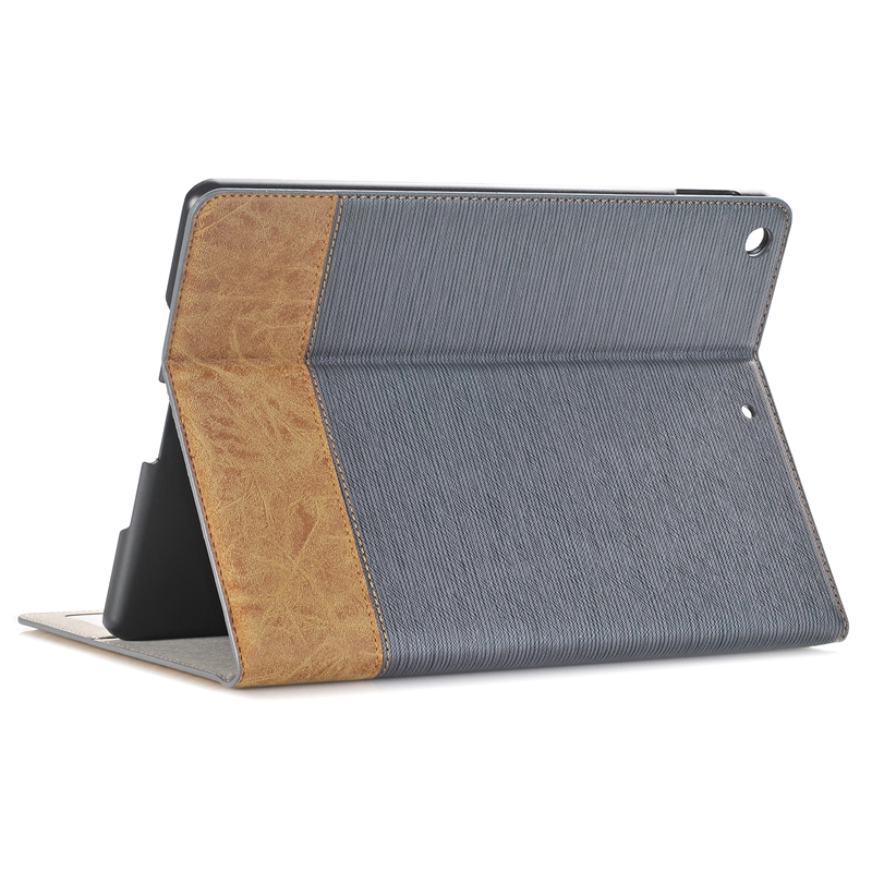 PU Leather Wallet Card Slot Kickstand Tablet Case For New iPad 9.7 Inch 2017/iPad 9.7 Inch 2018