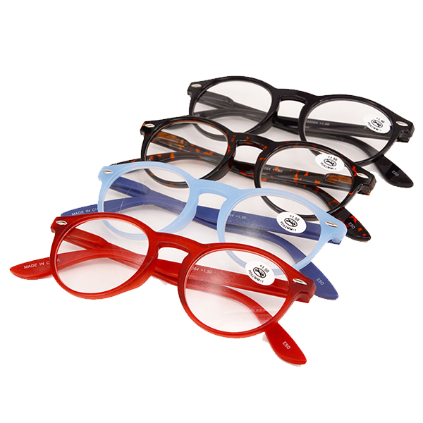 Unisex Retro Reading Glasses Clear Lens Eyeglasses