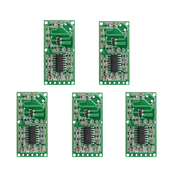 15pcs RCWL-0516 4-28V 3mA Microwave Radar Sensor Human Body Induction Switch Module Board Smart Induction Prober