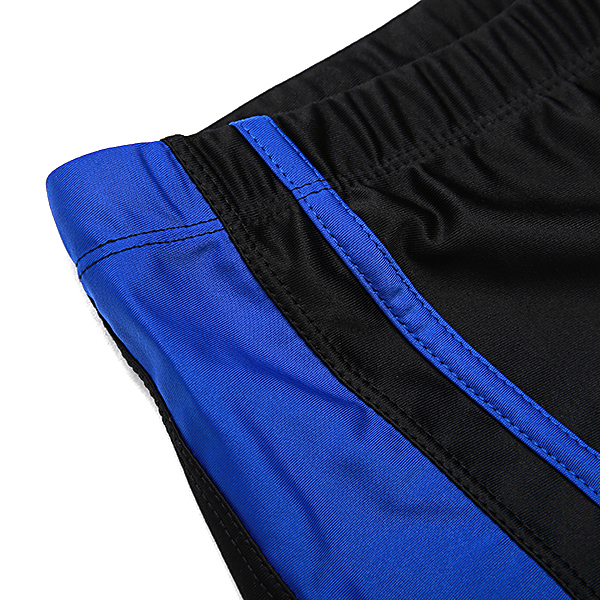 Fashion Beach Quickly Dry Stitching Boxers Swim Trunks for Men