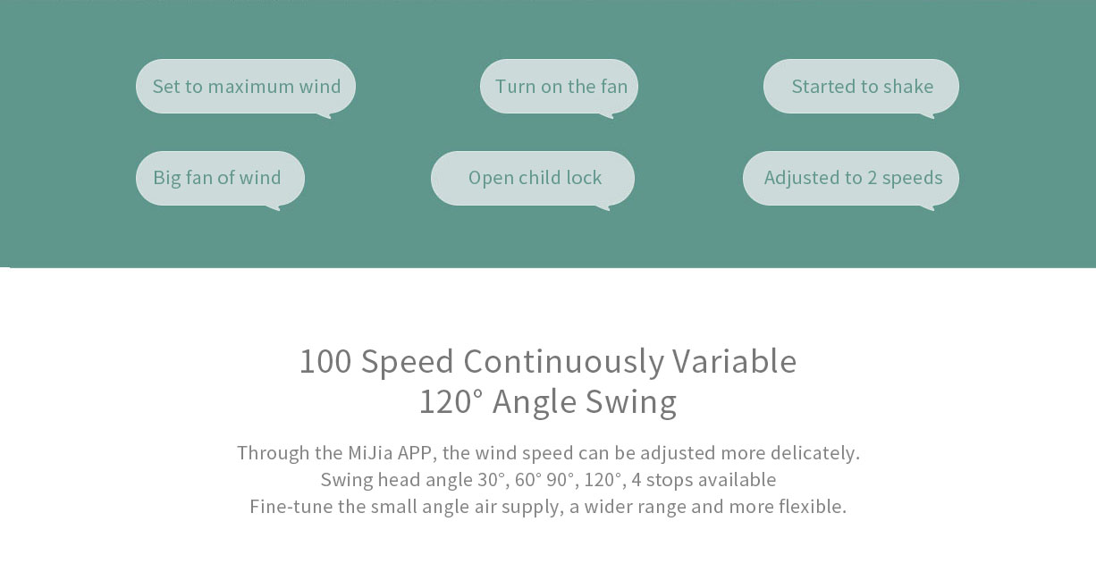 XIAOMI Mijia DC Frequency Conversion Floor Fan with Energy Saving Smart Remote Control