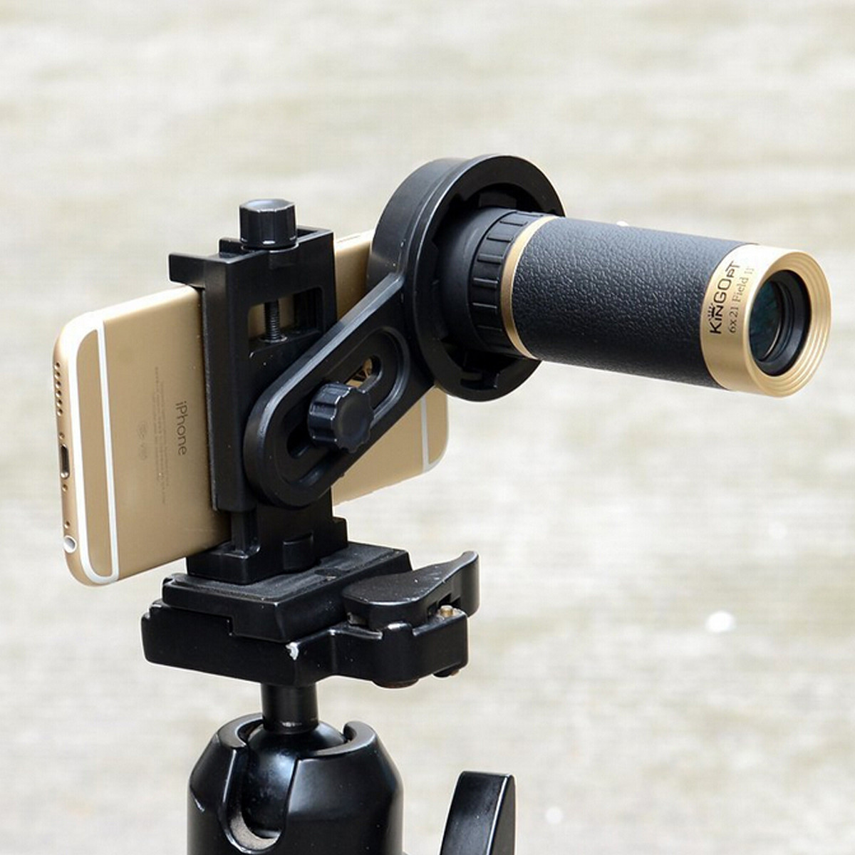 Universal Astronomical TelescopE-mount Holder Adapter Clip For Smartphone Camera
