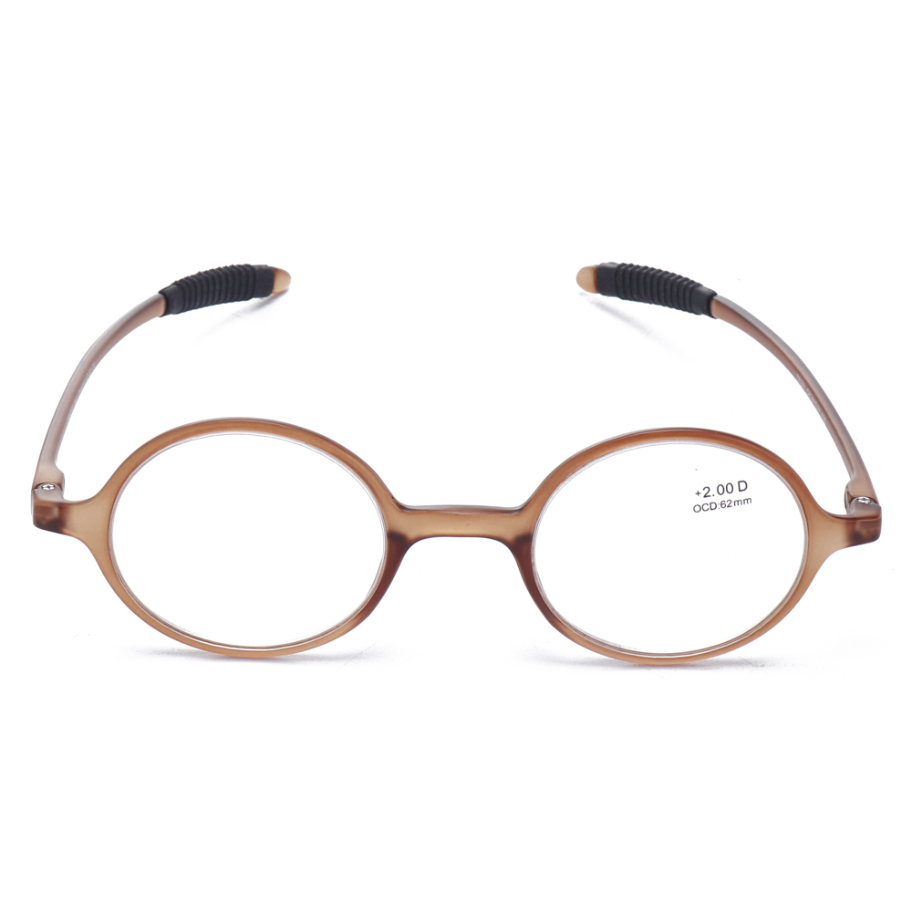 Round Reading Glasses Reader Presbyopic Glasses for Men