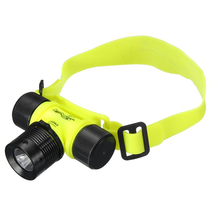 1000LM LED Under Water Waterproof Diving Headlamp Flashlight Headlight