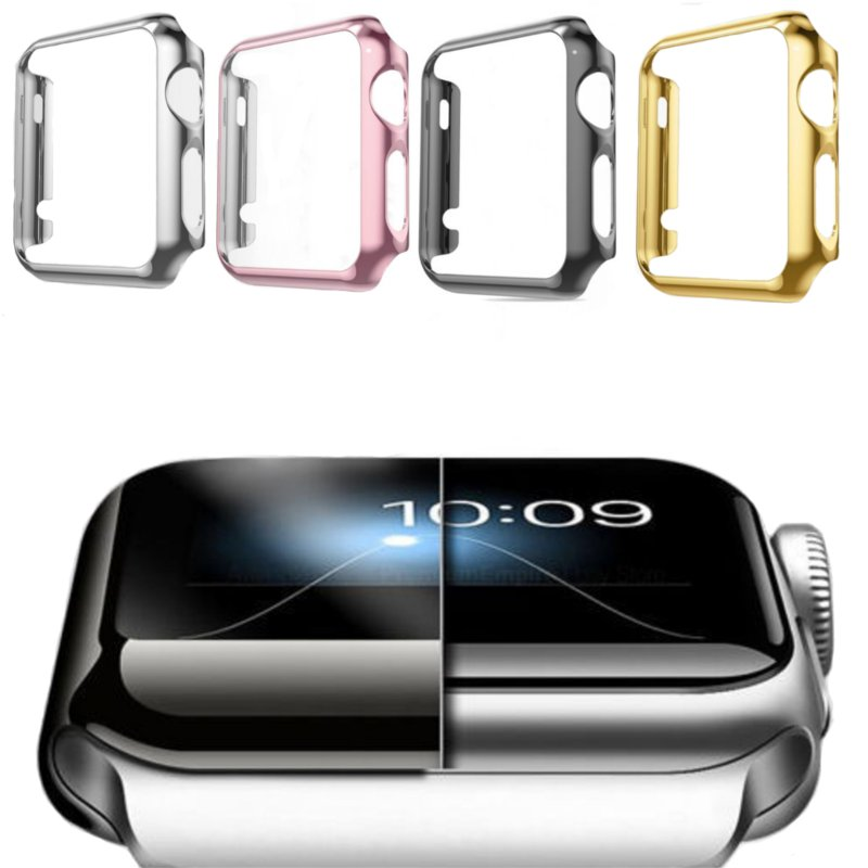 Plating Hard PC Protective Case For Apple Watch Series 2 38/48mm