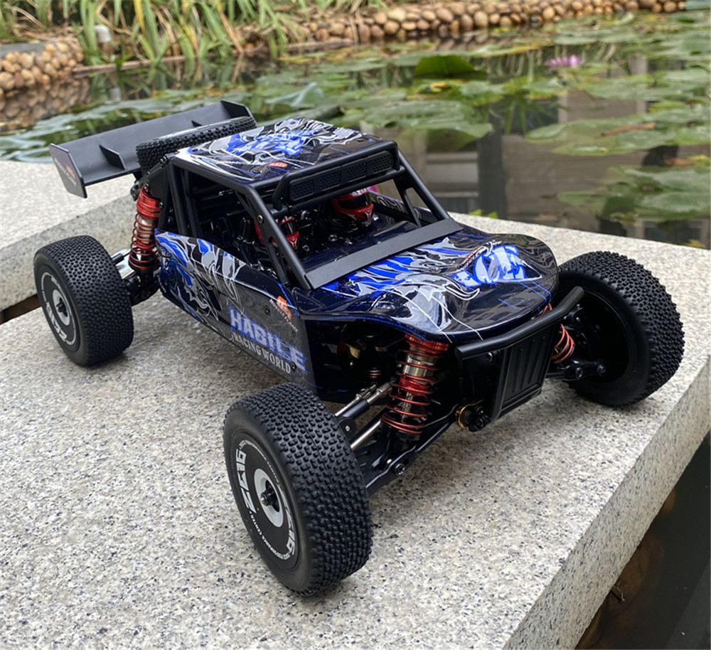 Wltoys 124018 RTR 1/12 2.4G 4WD 60km/h Metal Chassis RC Car Off-Road Truck 2200mAh Vehicles Models Kids Toys