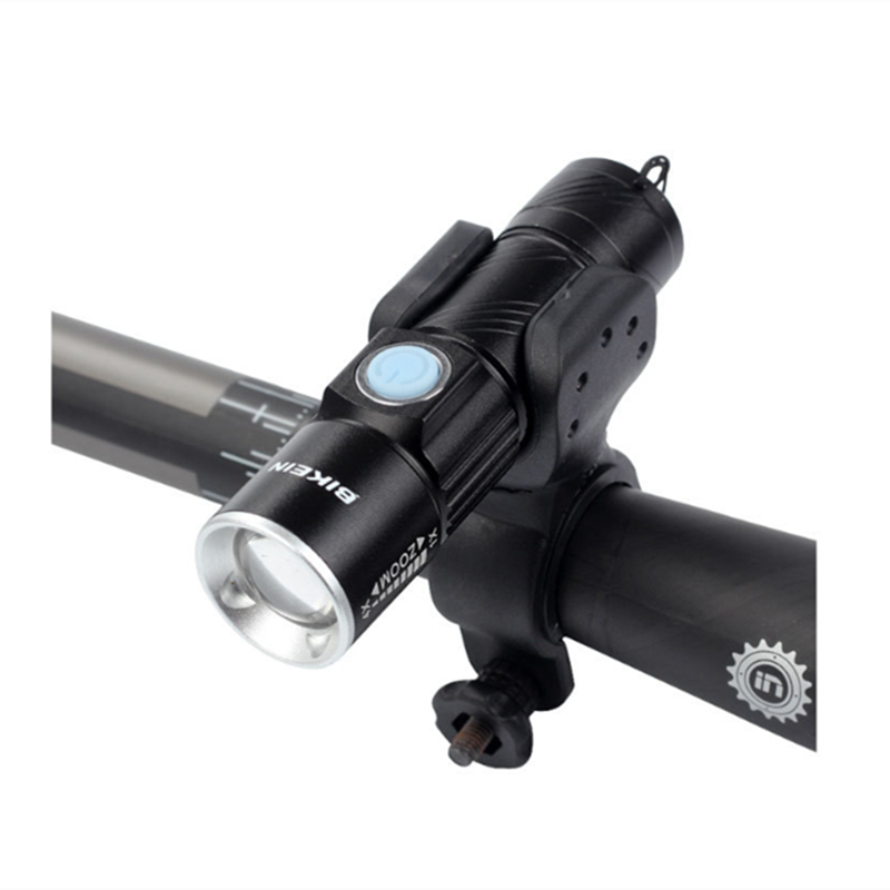 XANES® XL33 650LM Headlights Waterproof USB Rechargeable Flashlight With Bracket For Xiaomi E-Scooter Motorcycle Bicycle