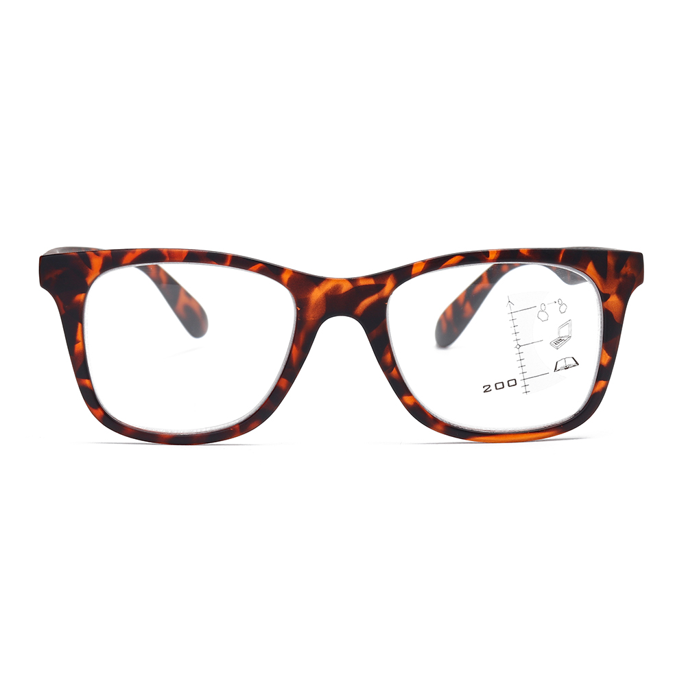 Retro Progressive Bifocal Reading Glasses Eyeglasses