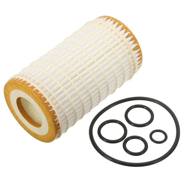 Fleece Engine Oil Filter Gaskets Cleaner For Mercedes Benz C/E/CLK 240