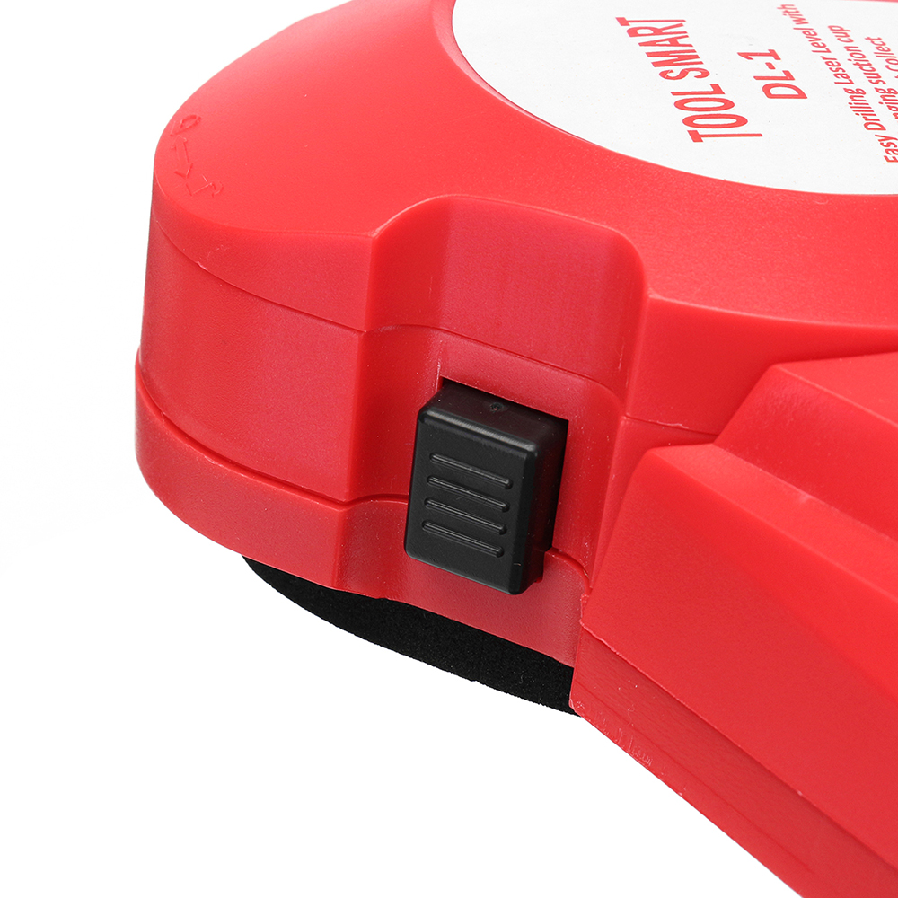 Drillpro 650nm Laser Level Tools Infrared Laser Level Locator Easy Drilling Dust Collector