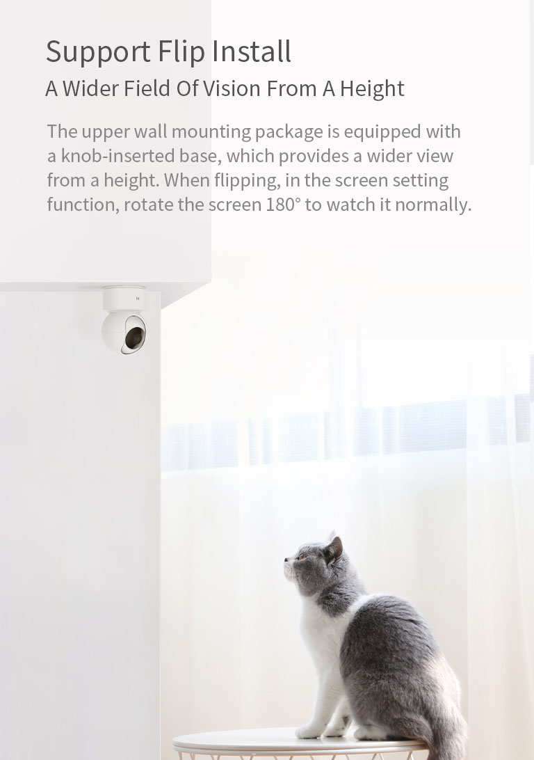 [Global Version]XIAOMI Mijia H.265 1080P 360° Night Version Smart AI IP Camera Home Baby Monitor Pan-tilt Webcam