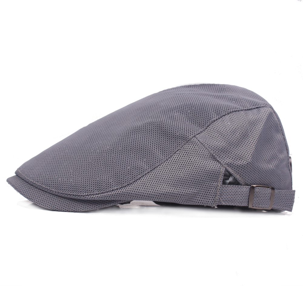 Mesh Breathable Beret Hat Gatsby Newsboy Hunting Hat