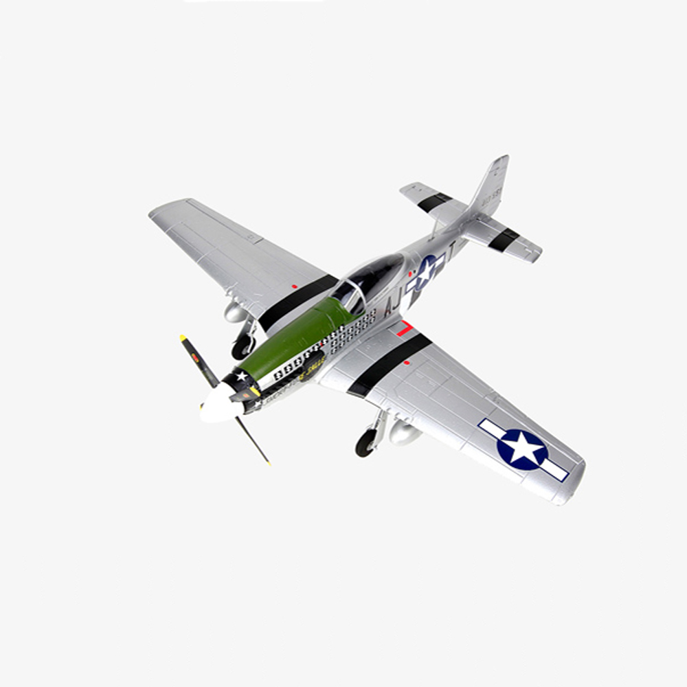 HSDJETS P-51 800mm Wingspan EPO Warbird Scale RC Airplane PNP