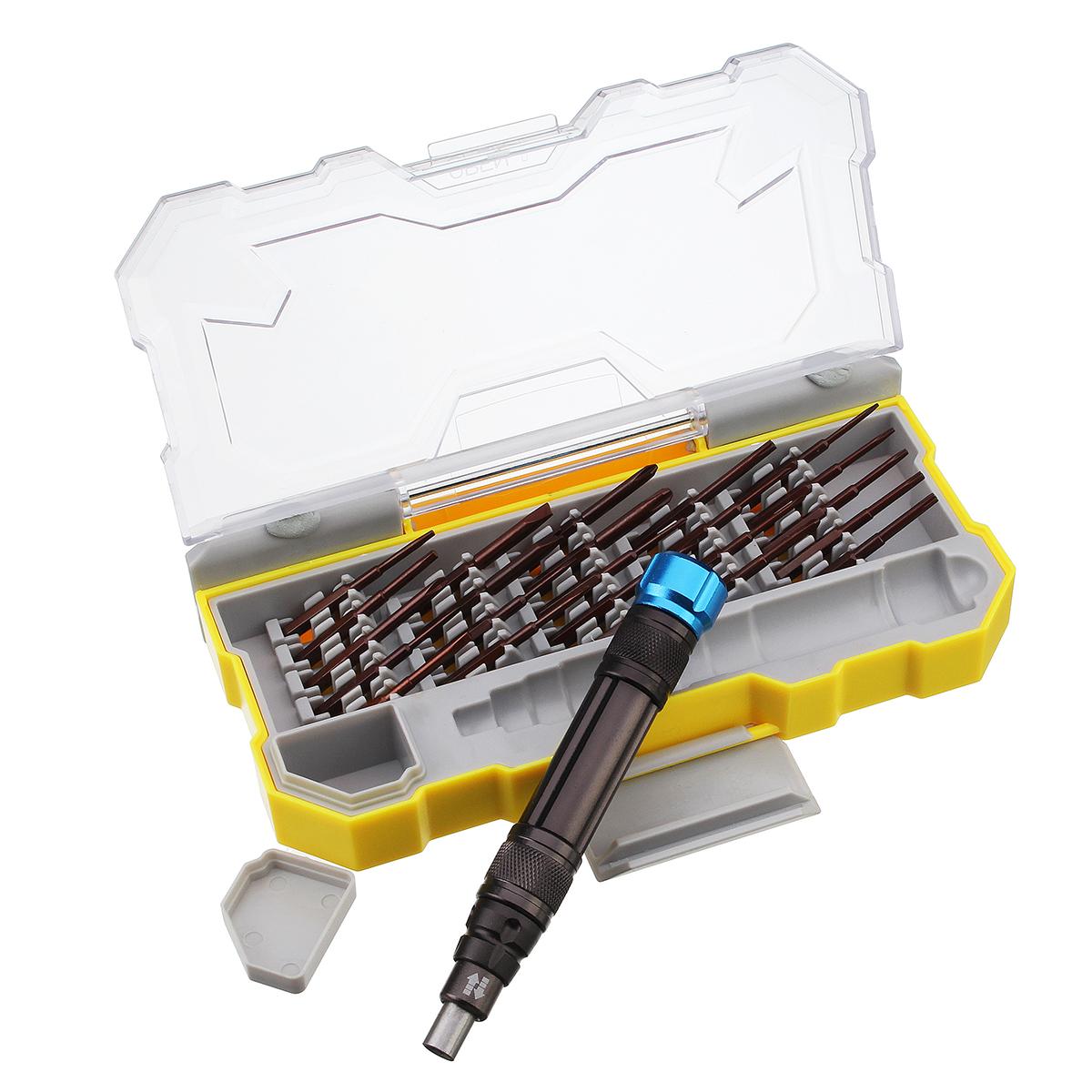 25 IN 1 Mini Repair Precision Screwdriver Tools Kit For Notebook Phones Repairing Tools