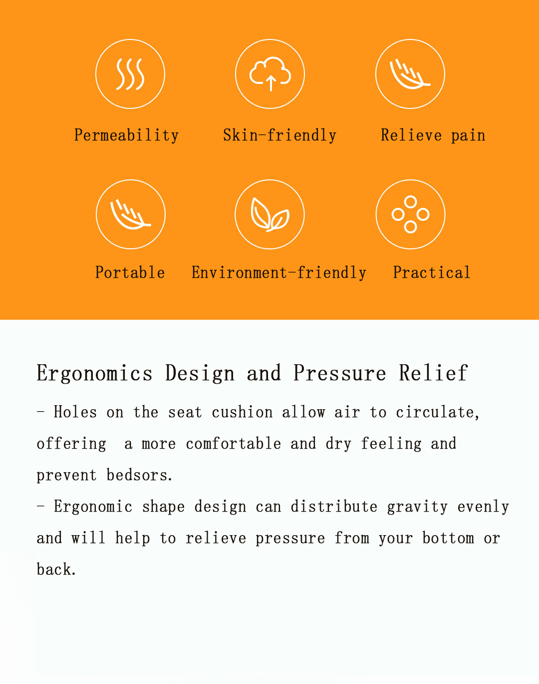 Inflatable Portable TUP Ergonomic design Car Seat Cover Mattress Air Cushion From Xiaomi Youpin