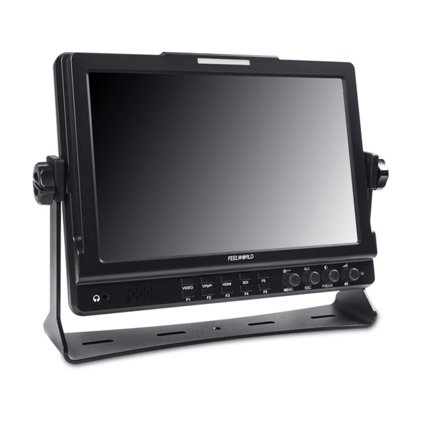 FEELWORLD FW1018S 10.1 inch IPS 1280x800 3G-SDI HD Camera-Top Monitor with Peaking Focus