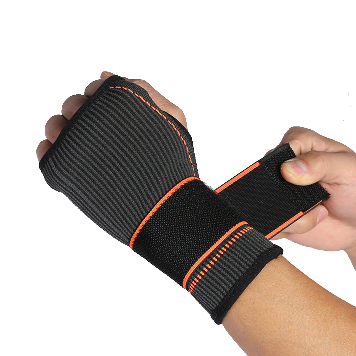 1Pc Adjustable Wrist Support Camping Sports Hand Palm Brace Strap Wraps Hand Prevent Sprains