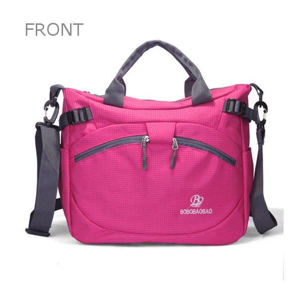 Women Men Outdoor Nylon Handbags Casual Waterproof Shoulder Bags Crossbody Bags