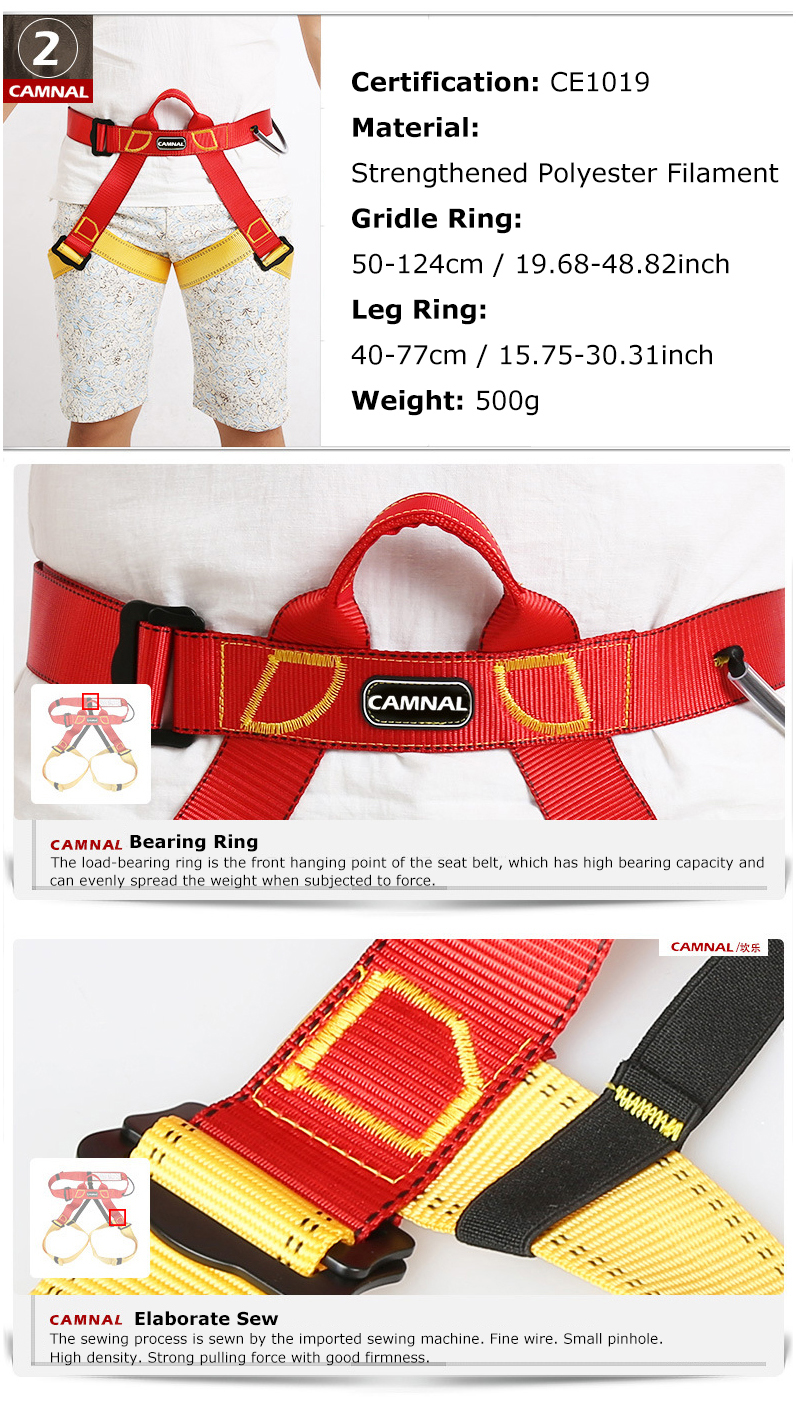 CAMNAL 10m 20m Climbing Rope Climbing Slow Descender Device Emergency Rescue Survival Tools Kits Necessary Protection