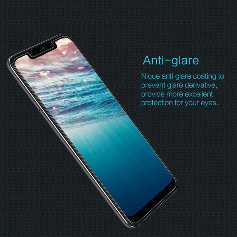 NILLKIN Anti-explosion Tempered Glass Screen Protector +Lens Protective Film for Xiaomi Pocophone F1