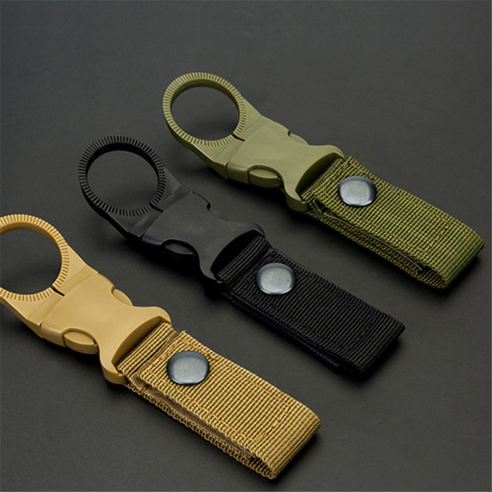 Men Pouch Key Chain Nylon Belt Hanger Keychain