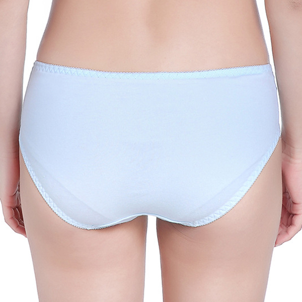Cotton Printing Mid Waist Stretchy Panties