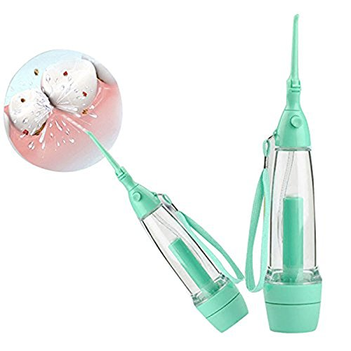 Portable Dental Care Water Jet Green Oral Irrigator Flosser Tooth SPA Teeth Water Flosser