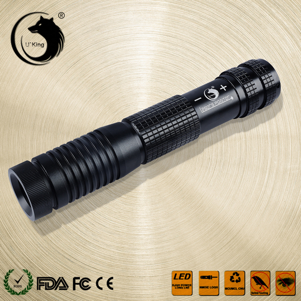 U King ZQ-012B 450nm Blue Light High Power Beam Laser Flashlight With EU Charger Laser Pointer