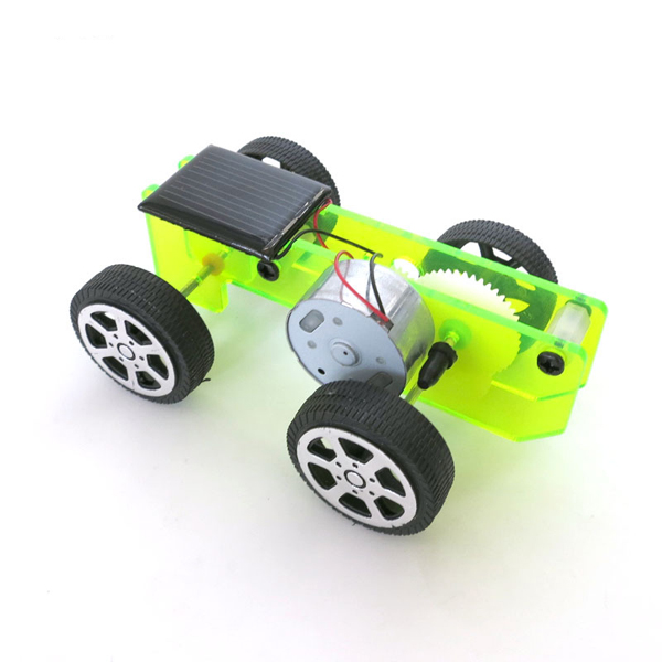 DIY Solar Powered Car Physics Experiment Science and Technology Puzzle Toy Kit