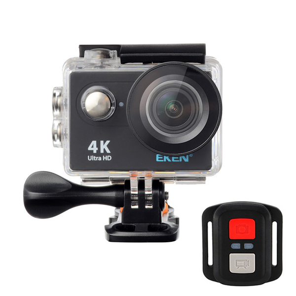 eken h9r sports action camera 4k ultra hd 2.4g remote wifi 170