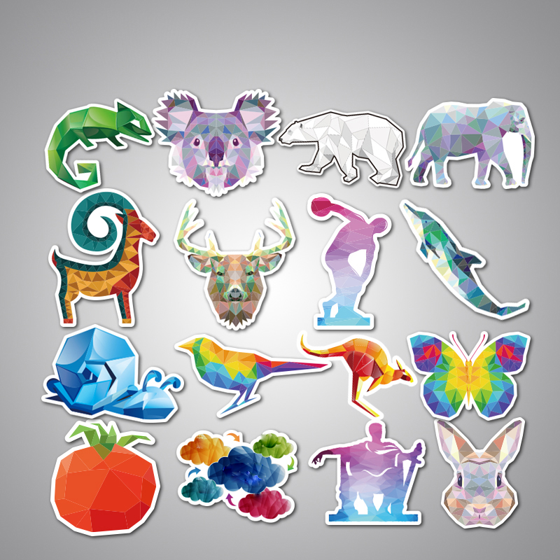 35Pcs Animal Car Stickers Mixed Funny Cartoon For Luggage Laptop Computers Bicycles Decor Motorcycle Mixed Cartoon Vinyl Decals Pvc Waterproof Sticker