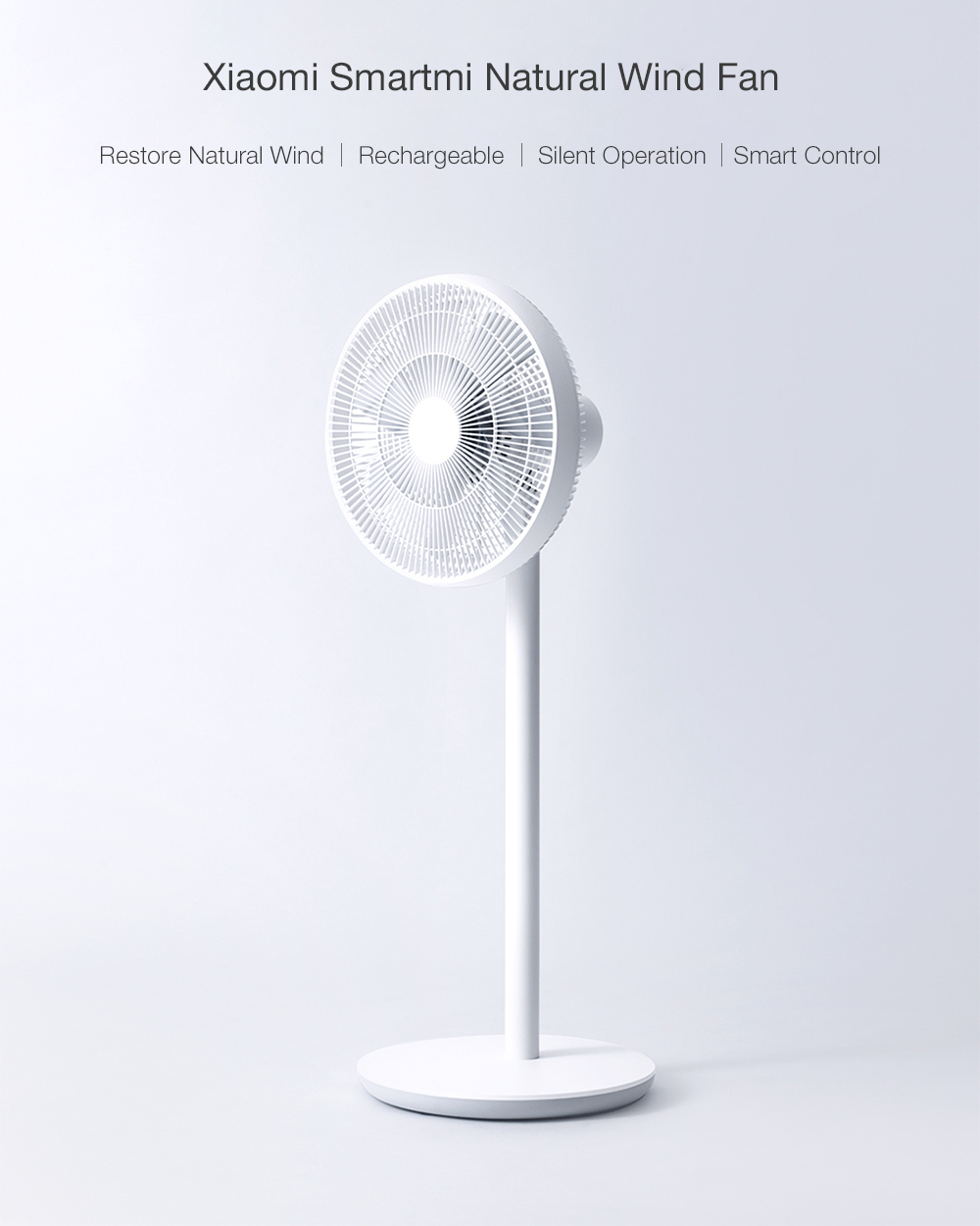 Xiaomi Smartmi Home Wireless Smart Natural Wind DC Frequency Stand Fan with Mijia APP Control