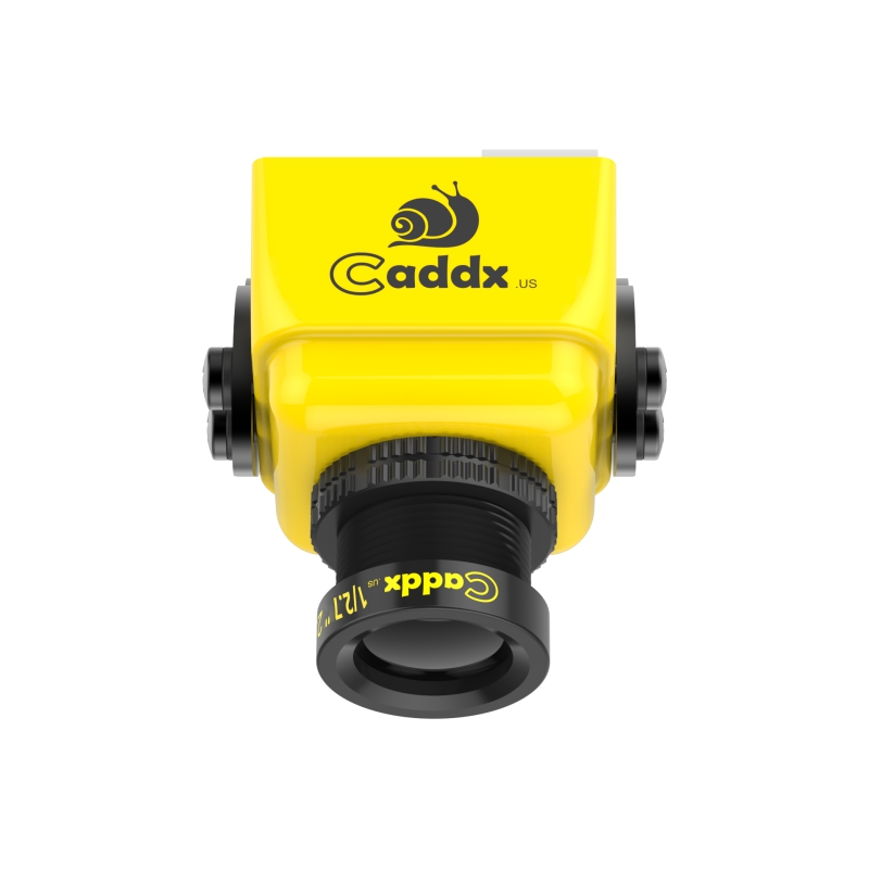 Caddx Turbo S1 1/3 CCD 600TVL IR Blocked FPV Camera Yellow/Green NTSC/PAL DC 5V-40V Wide Voltage