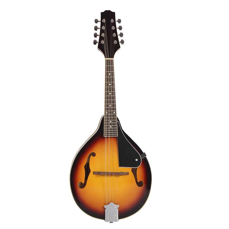 Sunset Color Rose Wood 8 Strings F Hole Mandolin for Music Player Gift