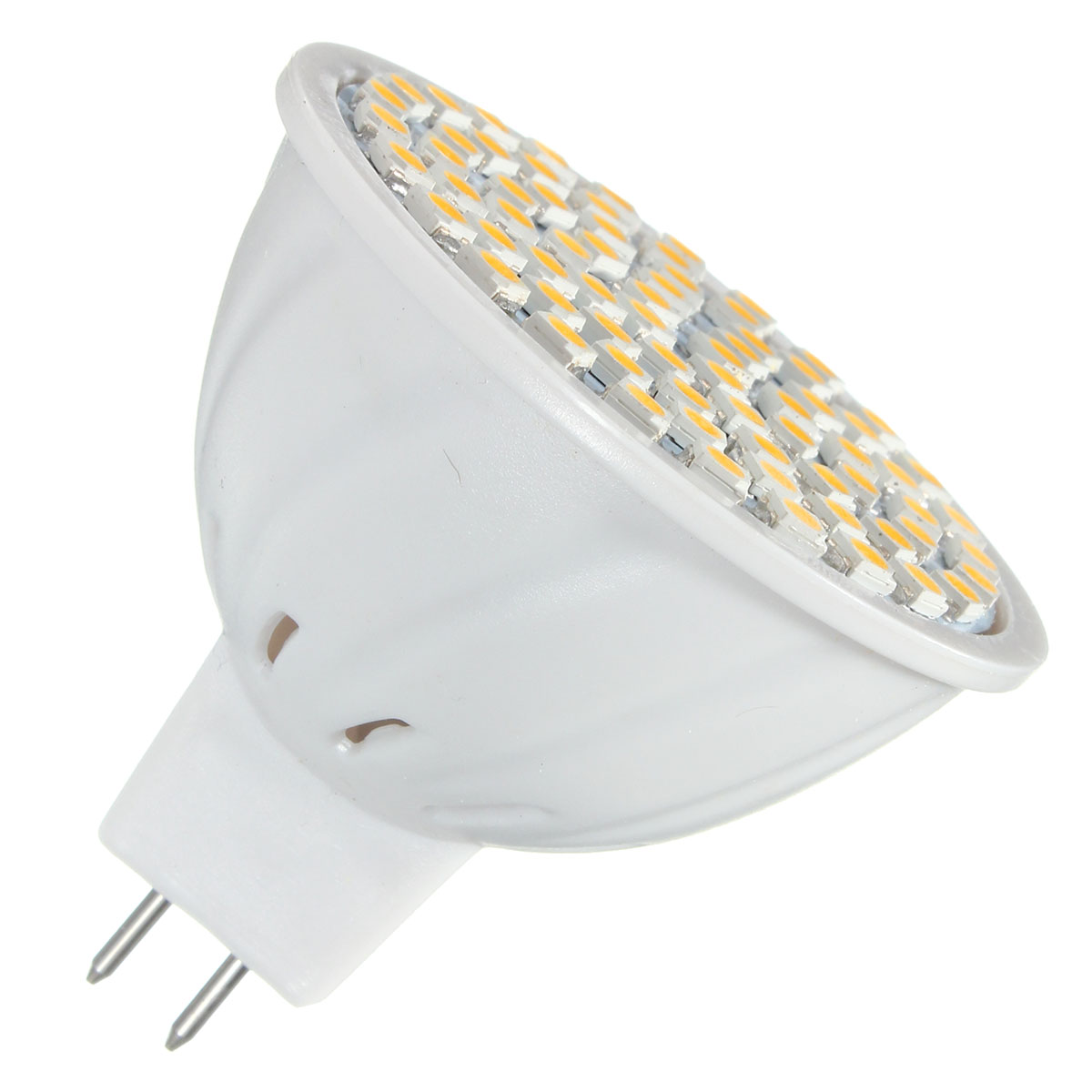 E14 E27 GU10 MR16 3.5W 72 SMD 3528 Pure White Warm White LED Spot Lightt Bulbs Lamps AC110V AC220V