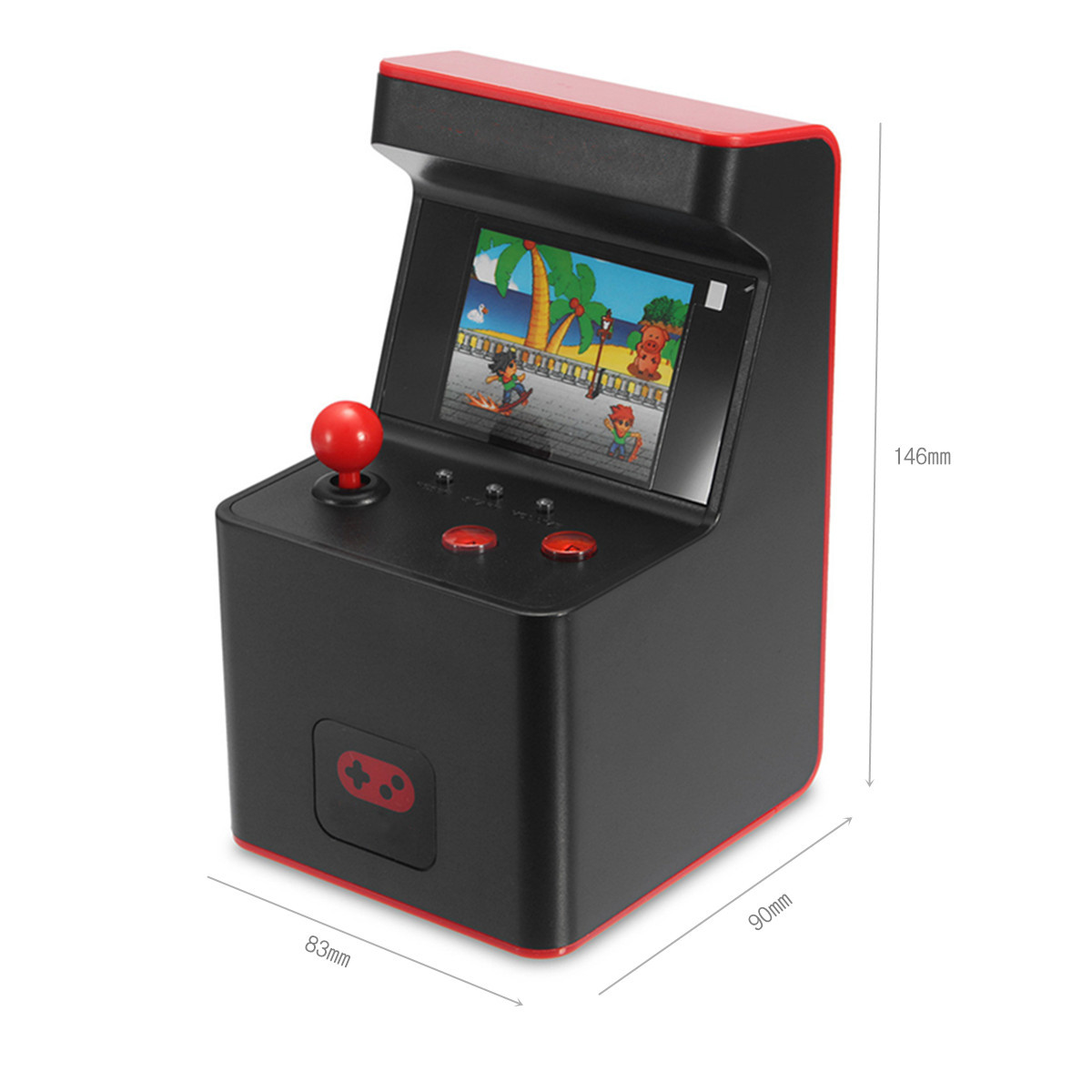 Mini Portable Handheld Classic Retro 300 Video Game Built-in Arcade Machine Console