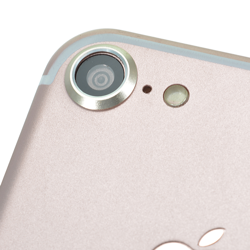 Back Camera Lens Anti-Scratch Metal Protection Ring Cover for iPhone 7