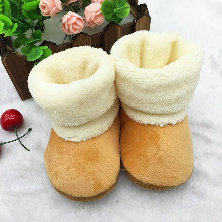 Newborn Soft Sole Winter Warm Boot Baby Girl Shoes Soft Prewalker Sweet Toddler
